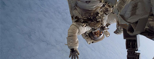 First Spacewalk for Astronaut Steve MacLean