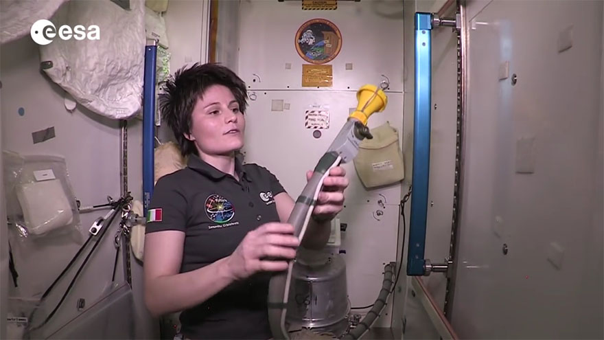 Video: ISS toilet tour