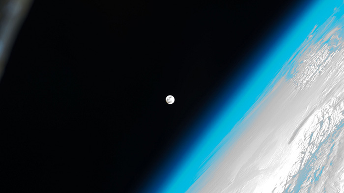 Moon exploration images