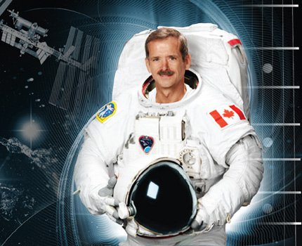 Canadian Astronaut Chris Hadfield Banner