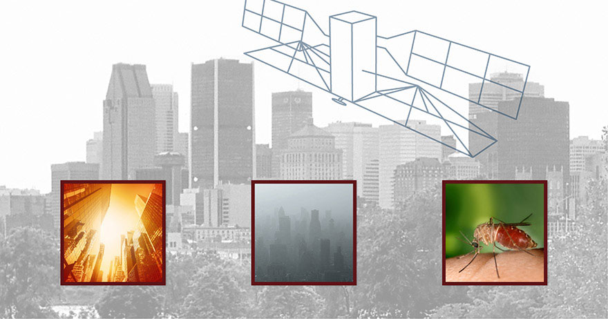 Using satellites to identify potential health risks in cities: high heat, air pollution and mosquitos