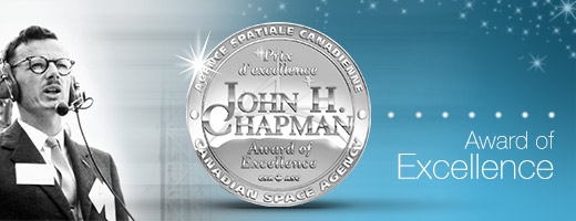 John H. Chapman Award of Excellence banner