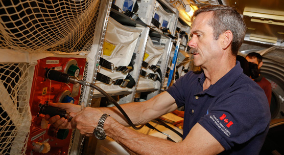 Astronaute canadien Chris Hadfield