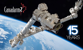 Canadarm2 15 Years