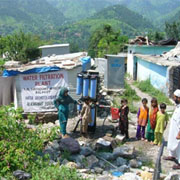 Water filtration plant in Balakot