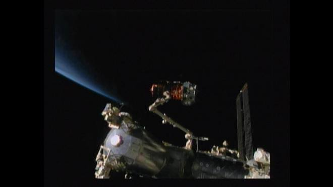 Cosmic Catch for Canadarm2