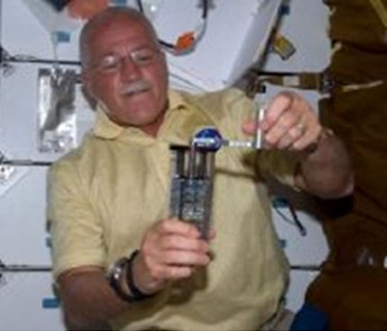 Astronaut John Phillips