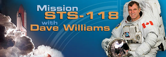 Banner of the STS-118