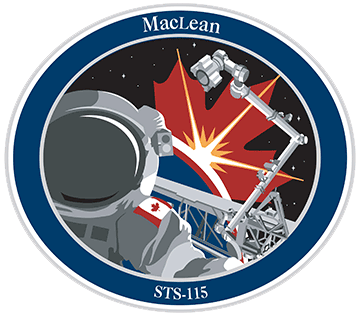 Écusson de la mission STS-115