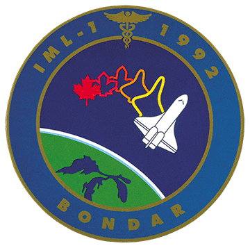 Écusson de la mission STS-42
