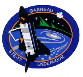 Écusson de la mission STS-77
