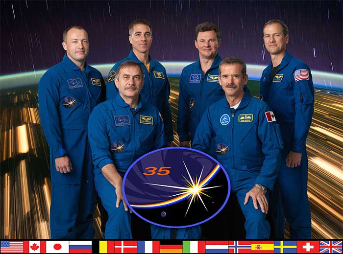 Expedition 35 Crew