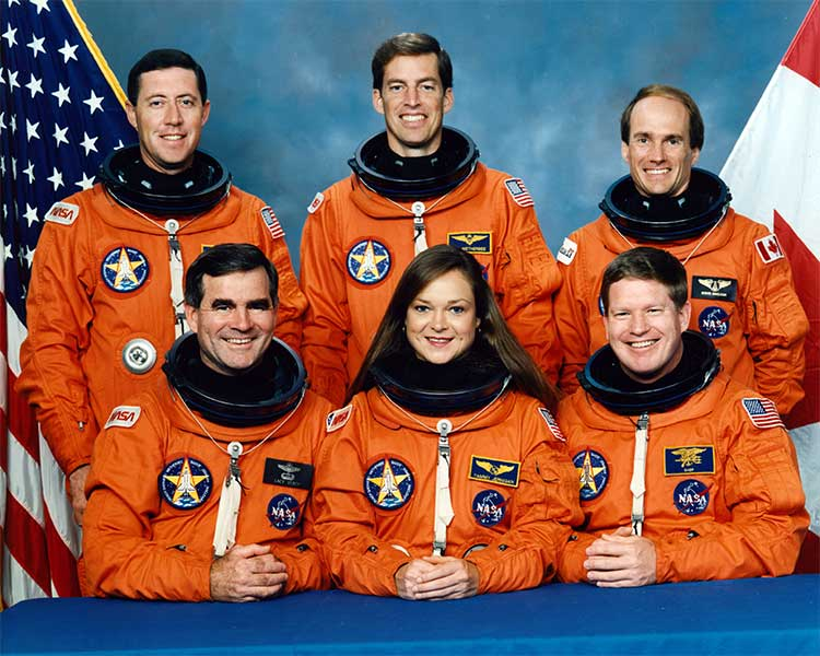 Mission STS-52 Crew