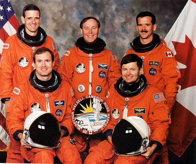 Mission STS-74 Crew
