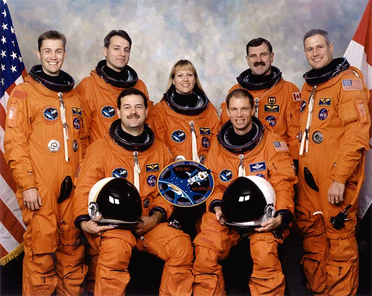 Mission STS-90 crew
