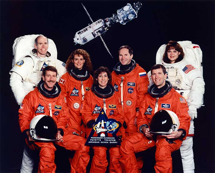 Mission STS-96 crew