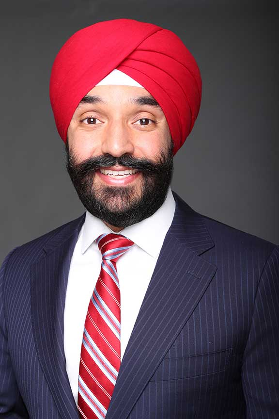 The Honourable Navdeep Singh Bains, Minister of Innovation, Science and Economic Development