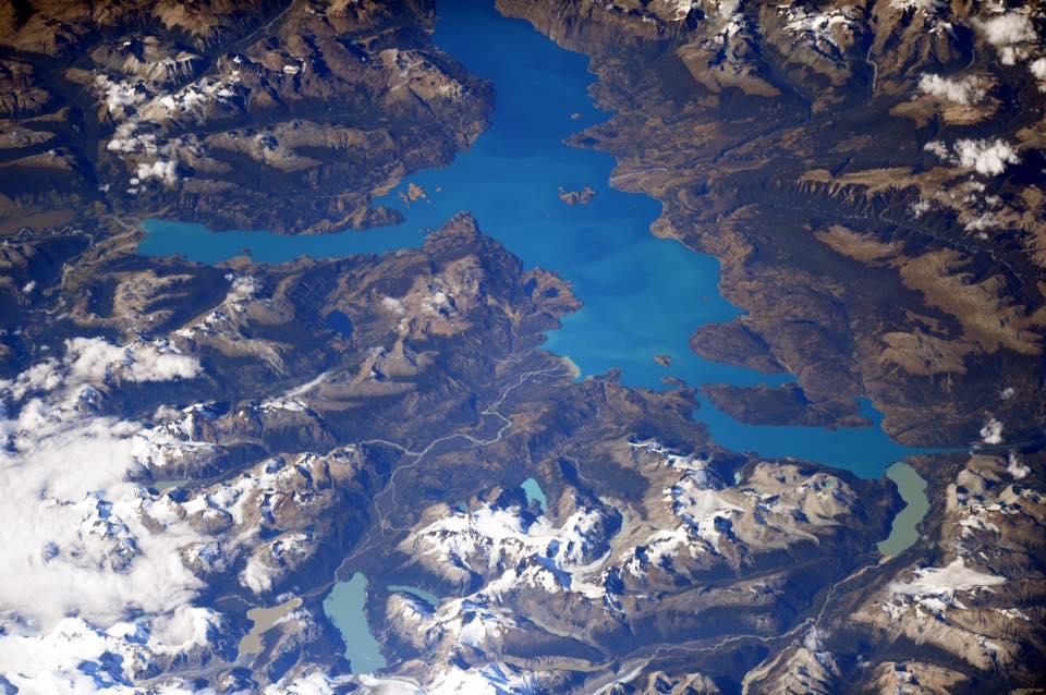Lacs et glaciers de la Patagonie