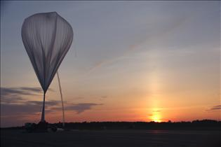 Inflation of a stratospheric balloon
