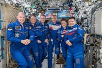 Mission Expedition 57 : Départ de la Station spatiale internationale