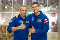 David Saint-Jacques and Jeremy Hansen