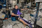 Astronaut Tim Peake Participates in the Vascular Echo Study