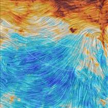 Starry night: brushstrokes of dust in the Milky Way