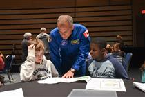 CSA astronaut David Saint-Jacques participates in the launch of Little Inventors – Inventions for SPACE