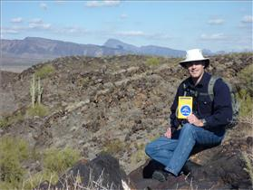 Jeremy Hansen receives geology training in Arizona
