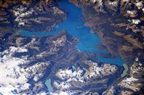 Lakes and glaciers of Patagonia, South America