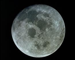 Full Moon as seen from Apollo 11