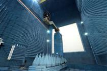 M3MSat - Testing in the anechoic chamber at the David Florida Laboratory in Ottawa.