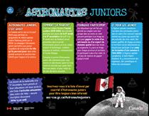 Astronautes juniors – document d'information