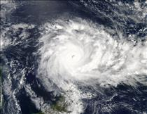 Cyclone Fantala in the Seychelles