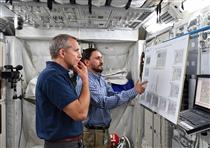 CSA astronaut David Saint-Jacques trains at the European Astronaut Centre (EAC)