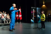 Question During the Event to Announce the Next Canadian to Fly to the International Space Station