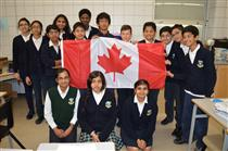 Students from Sir Wilfrid Laurier School, Calgary