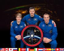 Membres de l'équipage de la mission Expedition 58