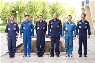 Prime and backup crews for Expedition 20/21