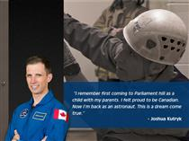 Quote from Canadian Space Agency Astronaut Joshua Kutryk