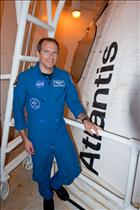 Visiting Space Shuttle Atlantis at the Kennedy Space Center