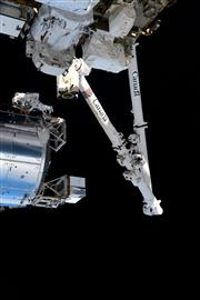 Canadarm2, le bras robotisé canadien de la Station spatiale internationale