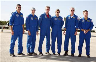 Crew of mission STS-115