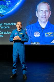 CSA astronaut David Saint-Jacques reveals new ground-breaking science and technologies