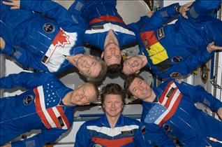 Expedition 20 crew members