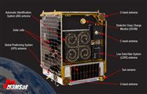 The main components of the M3MSat satellite