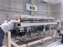 Assembly of an RCM synthetic aperture radar (SAR) panel