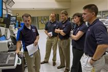 2009 Astronaut Class during robotics training at the CSA