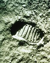 First Step on the Moon - July 11, 1969