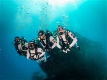 The NEEMO19 aquanauts